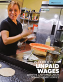 Brochure cover: How to File a Wage Claim to Recover Your Unpaid Wages
